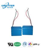 Großverkauf 18650 3s1p 11.1V 6600mAh EV Li-Ionbatterie-Satz für Samsung