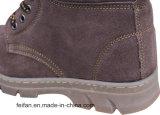 De Schoenen van de Veiligheid van de Kwaliteit van Leater van het suède met Oxfor Outsole