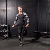 Sportswear длинней втулки обжатия износа гимнастики камуфлирования человека плотно