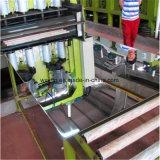 Plaque d'acier inoxydable de certificat d'essai de moulin
