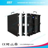 P3.91 y P4.81 y P6.25 acceso frontal Die Casting Alquiler cubierta Gabinete Pantalla LED
