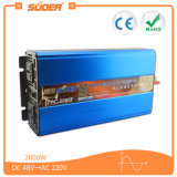 Inverseur de pouvoir de la qualité 2000W 48V de Suoer (FPC-2000F)