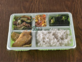 5 Compartment Of thicken Of upscale Of disposable Of plastic Of food Of tray
