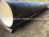 Alta calidad Q345 SSAW tubería para agua