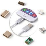 Línea de carga magnética para el cable del USB del cable del cargador del teléfono móvil
