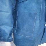 Устранимая синяя куртка SMS с связанными тумаками и воротом