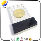 Decorazione acrilica di cristallo d'Affondamento personalizzata della medaglia di oro