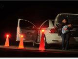 Перезаряжаемый 9 в 1 Flare Light Emergency безопасности дорожного движения Свет безопасности Предупреждение Light