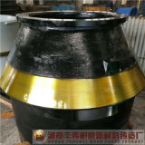 Shanbao Sbm das Zenit, das Huayang Kegel-Zerkleinerungsmaschine kalkt, zerteilt Umhang-Filterglocke-Zwischenlage