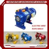 Микро- европейская электрическая лебедка 1t 3t 5t 10t 15t 20t веревочки стального провода