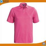T-shirts faits sur commande de polo d'été de mode de T-shirts de coton de femmes