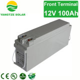 12V 100ahの電気通信の前部ターミナル電池
