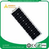 Alishine tout dans un réverbère extérieur solaire de allumage avec le panneau solaire mono