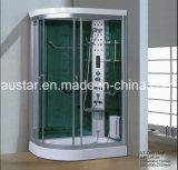 sauna de canto do vapor de 1200mm com chuveiro (AT-D8813F)