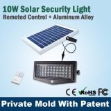 10W IP solare 65 dell'indicatore luminoso di obbligazione di telecomando PIR