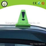 Type neuf annonçant le cadre léger de taxi de dessus de toit de panneau-réclame