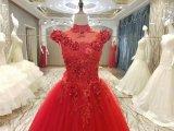جديد وصول 2017 أحمر أرضيّة طول زواج عرس ثياب