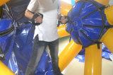 販売のための水ゲームの膨脹可能な浮遊紡績工