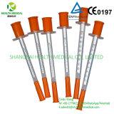 처분할 수 있는 인슐린 주사통 (0.3ml, 0.5ml, 1ml)