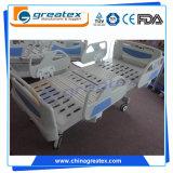 丘ROMの5つの機能の電気病院用ベッドのロゴのベッドの手動ベッド