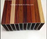 Profil en aluminium d'extrusion des graines en bois de qualité