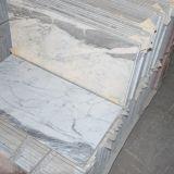 Chinees poetste Witte Goedkope Marmeren Tegel voor Verfraaide Muur op