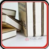 Cuaderno puro y naturaleza expuesto A5 de Kraft de la espina dorsal