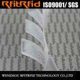 Etiquetas tamaño pequeño de la escritura de la etiqueta del extranjero H3 RFID del papel termal