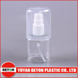 pequeña botella plana plástica 30ml con el casquillo excesivo grande para el perfume (ZY01-D026)