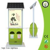 Коробка напольный рекламировать высокой яркости солнечная приведенная в действие светлая
