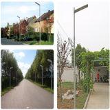 APP steuern integriertes 50W Solar-LED Straßenlaterne