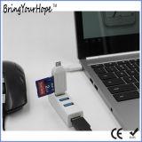 Datilografar o cubo do USB das portas 3.1 de C 4 (XH-HUB-003)