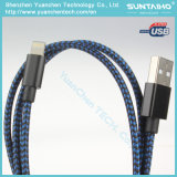voor Nylon Gevlechte Kabel van de Lader van de Bliksem iPhone5/6/7 de Nieuwe USB