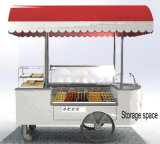 Carrello crema del Popsicle di /Ice del carrello mobile del gelato
