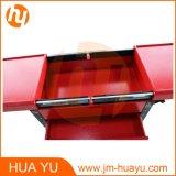 Carrelli professionali dello strumento/carrello dentale dello strumento con colore rosso dei cassetti