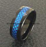 Bijou plaqué bleu de boucle de tungstène de qualité de bijou de Shineme (TST2871)