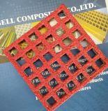 Produits de FRP/GRP, grilles antidérapage de fibre de verre