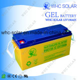 Batterie profonde de gel de la batterie solaire 12V150ah de cycle de Whc