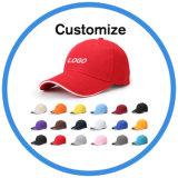 Chapeaux faits sur commande de Snapback de cuir de modèle de logo en métal pour le bébé