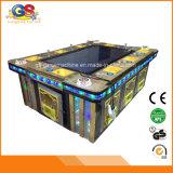 Máquina de jogo eletrônica da arcada do simulador dos peixes do tiro do divertimento interno com o leitor de cartão para miúdos