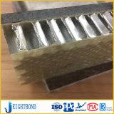 Comité van de Honingraat van het Aluminium van de Steen van de Bekleding van de muur het Marmeren met Deklaag PVDF