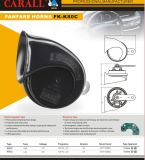 Hot Selling Auto Speaker Auto Horn 115dB E-MARK Approuvé