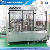 Máquina de engarrafamento giratória automática cheia de 3 bebidas do suco in-1