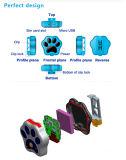 O mini perseguidor esperto impermeável portátil IP66 do GPS do animal de estimação do perseguidor RF-V30 WiFi do animal de estimação Waterproof o alarme de segurança do localizador de colar para o gato do cão