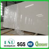 Weiße Quarz-Stein-Kristallplatte für Verkauf