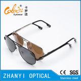 Óculos de sol coloridos do metal da forma para conduzir com Lense Polaroid (3025-C2)