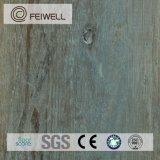 PVC auto-adhésif commercial de plancher de Brown de qualité
