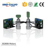 Scanner de galvanomètre à la qualité Js2808 de la CE pour la machine de gravure de laser