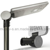 Outdoor Die Cast Aluminium 25W Solar Powered Street Light com Indução por infravermelho