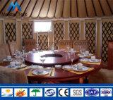 Grupo de vida das barracas de Yurt do hotel luxuoso da decoração para o recurso